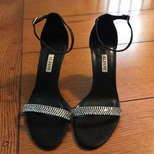 Alfani Rhinestone sandals! EUC! 7.5M